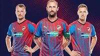 Nové dresy plzeňské Viktorie pochopitelně ctí tradiční klubové barvy, svislé pruhy ovšem evokují symbol blesku.