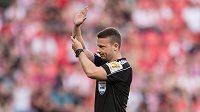 Rozhodčí Pavel Orel během utkání 1. kola HET ligy, SK Slavia Praha - FK Teplice, hrané 28. července 2017 v Eden Areně v Praze.