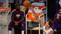 Basketbalista Los Angeles Lakers Kyle Kuzma.