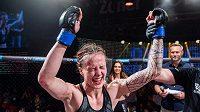 Tereza Bledá ovládla Oktagon Underground. Co předvede v profi MMA premiéře?