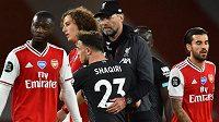 Fotbalisté Liverpoolu převezmou mistrovskou trofej příští středu