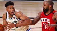 Basketbalisté Houstonu si poradili s Milwaukee