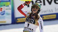 Katharina Liensbergerová je mistryní světa ve slalomu