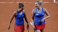 Kdo nastoupí ve fedcupovém finále? Dostane přednost Barbora Strýcová, nebo Kateřina Siniaková?