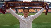 Nová posila fotbalové Sparty, albánský reprezentant Herolind Shala.