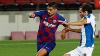 Barcelonský útočník Luis Suárez