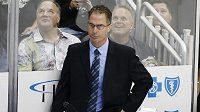 John Stevens ještě coby asistent trenéra na lavičce Los Angleles.
