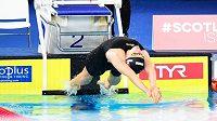 Česká plavkyně Simona Kubová ve finále závodu na 200 metrů