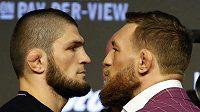 UFC 229 v Los Angeles vyvrcholí bitvou dvou nesmiřitelných. Fanoušci se dočkali zápas Conor McGregor vs. Chabib Nurmagomedov.