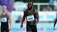 Americký handicapovaný atlet Blake Leeper