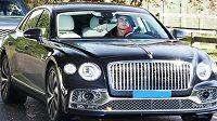 Ronaldo ve svém luxusním bouráku