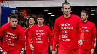 Proti rasismu se vyjádřili také hráči Walesu.