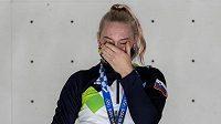 Premiérovou olympijskou vítězkou ve sportovním lezení se v Tokiu stala favorizovaná Slovinka Janja Garnbretová