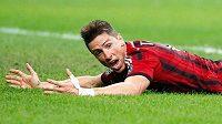Fernando Torres vstřelil na podzim za AC Milán jediný gól.