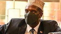 Bývalý keňský ministr sportu Hassan Wario
