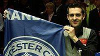 Mark Selby ovládl mistrovství světa ve snookeru.