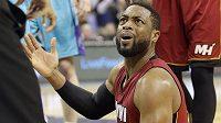Basketbalista Miami Dwyane Wade.