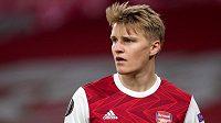 Arsenal posílil norský fotbalový reprezentant Martin Ödegaard
