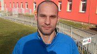 Fotbalový brankář Petr Vašek.