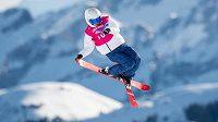 Patnáctiletý lyžař Matěj Švancer na zimních olympijských hrách mládeže v Lausanne.