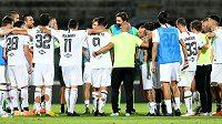 Nejhorší tým druhé italské fotbalové ligy AS Livorno se rozloučil se všemi 18 profesionálními hráči (ilustrační foto)