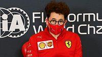 Šéf stáje Ferrari Mattia Binotto