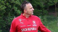 Trenér české fotbalové reprezentace do jednadvaceti let Karel Krejčí.