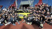 Vítězný tým Prague Black Panthers.