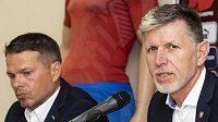 Manažer národního týmu Libor Sionko a trenér Jaroslav Šilhavý se možná už teď chystají na velice náročný start kvalifikace o MS 2022.