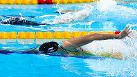 Česká plavecká hvězdička Barbora Seemanová při ME v krátkém bazénu v Glasgow