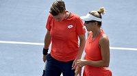 Květa Peschkeová a Demi Schuursová skončily na US Open ve čtvrtfinále