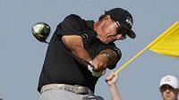 Golfista Phil Mickelson na turnaji Kiawah Island