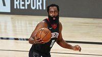 James Harden z Houston Rockets.