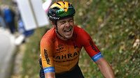 Slovinec Jan Tratnik na trati 16. etapy závodu Giro d´Italia.