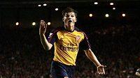 Andrej Aršavin v dobách slávy v dresu Arsenalu.
