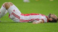 Obránce Daley Blind z Ajaxu nedohrál úterní přípravný zápas s Herthou Berlín