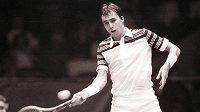 Ivan Lendl v počátcích své kariéry