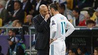 Po návratu Zinédina Zidana na trenérskou lavičku Realu Madrid začaly sílit spekulace o odchodu útočníka Garetha Balea