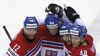Česká radost ve čtvrtfinále s Američany.