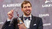 Basketbalová hvězda Dallasu Dirk Nowitzki