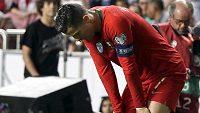 Cristiano Ronaldo odjel léčit zranění do Barcelony