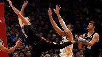 Jaký bude osud basketbalové NBA, stále není jasné (ilustrační foto)