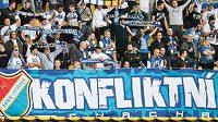 Fanoušci Baníku Ostrava (ilustrační foto)