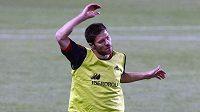 Xabi Alonso na tréninku španělské fotbalové reprezentace - archivní snímek.