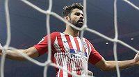 Návrat Diega Costy do sestavy Atlética Madrid po osmizápasovém disciplinárním trestu skončil zraněním