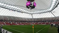 Stadion ve Varšavě, kde se 21. června 2012 odehrál zápas Česko Portugalsko