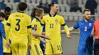 Zlatan Ibrahimovic táhne švédský tým