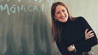 Španělská reportérka Mónica Benaventová.