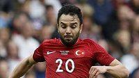 Turecký fotbalista Volkan Sen