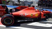 Sebastian Vettel mohl být se svým výkonem spokojen